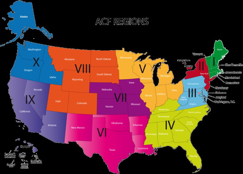 ACF Regions